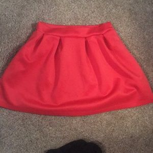SALE‼️ Red Circle Skirt
